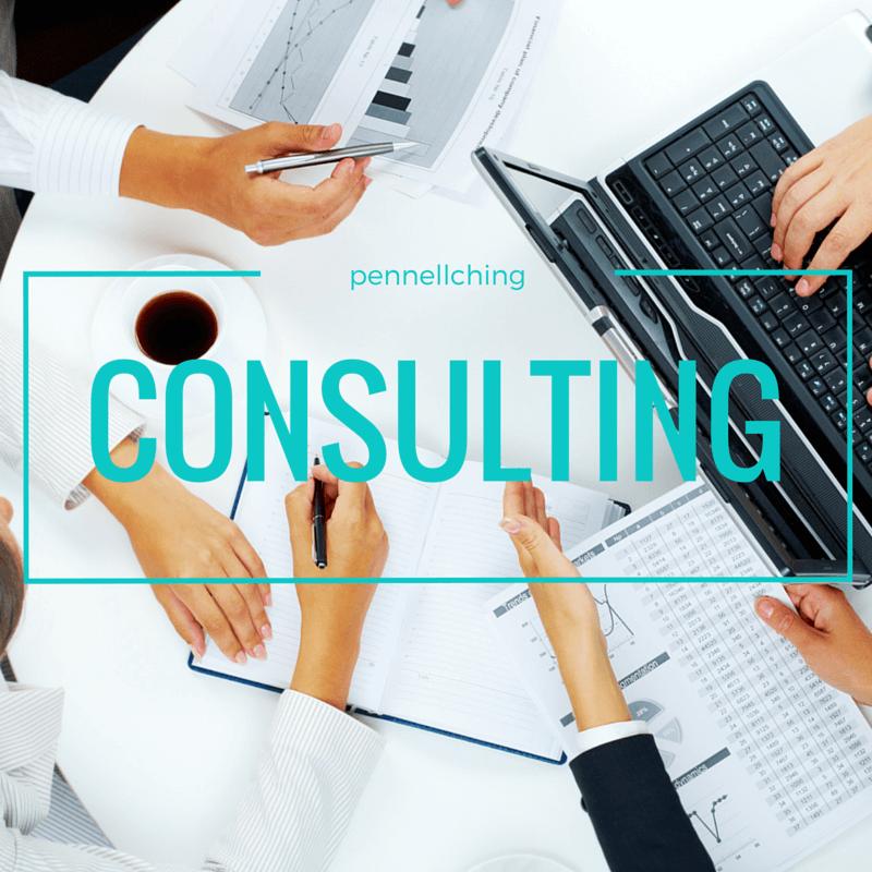 Consulting white:aqua