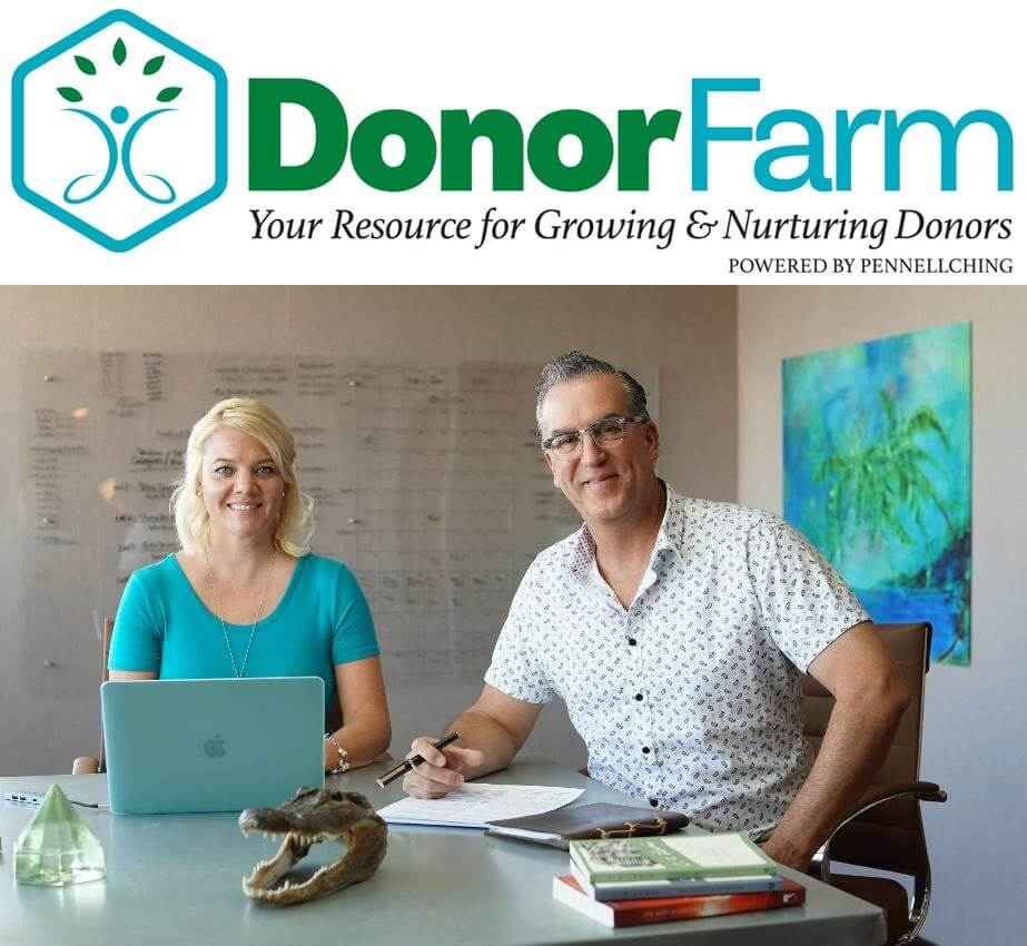 DonorFarm with Marshall Pennell and Jessica Ching
